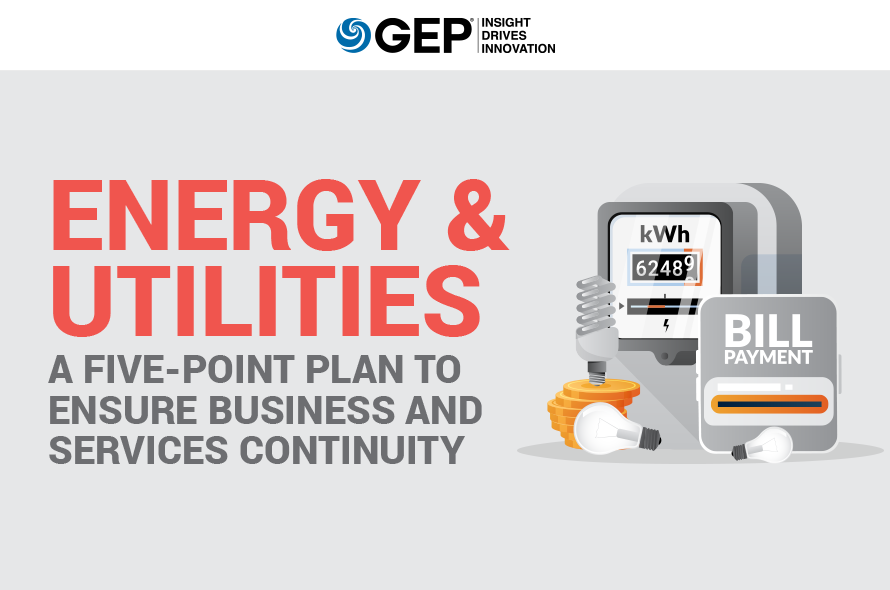Energy & Utilities: A Five-Point Plan to Ensure Business and Services Continuity