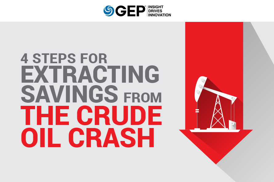4 Steps for Extracting Savings from the Crude Oil Crash