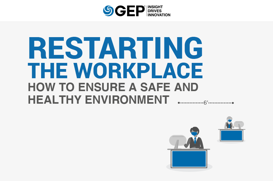 Restarting the Workplace: How to Ensure a Safe and Healthy Environment