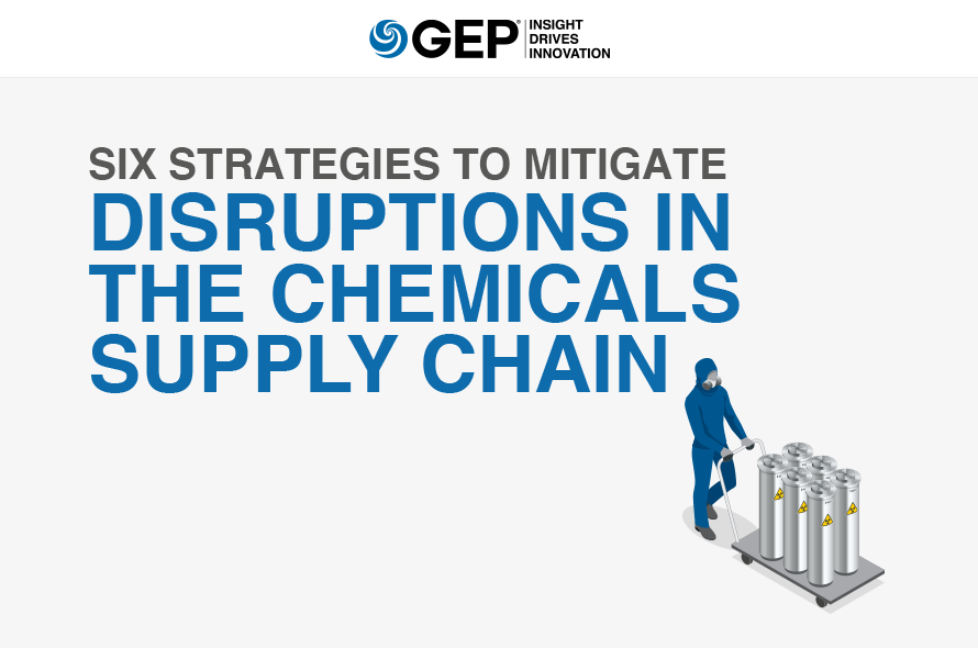 Six Strategies to Mitigate Disruptions in the Chemicals Supply Chain