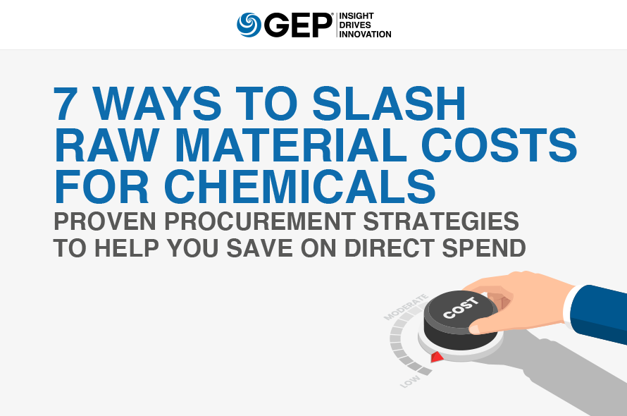 7 Ways to Slash Raw Material Costs for Chemicals