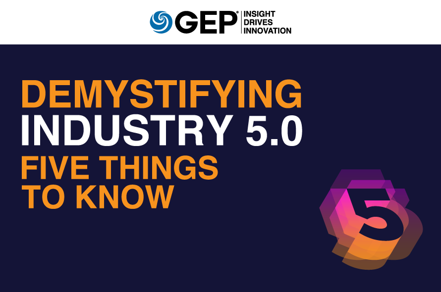 Demystifying Industry 5.0: Five Things to Know