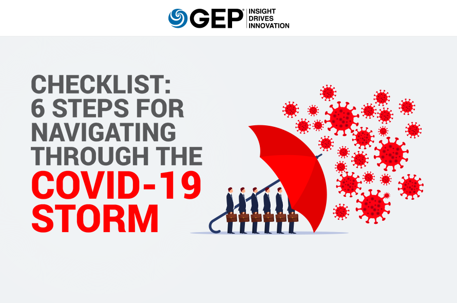 6 Steps for Navigating Through the COVID-19 Storm