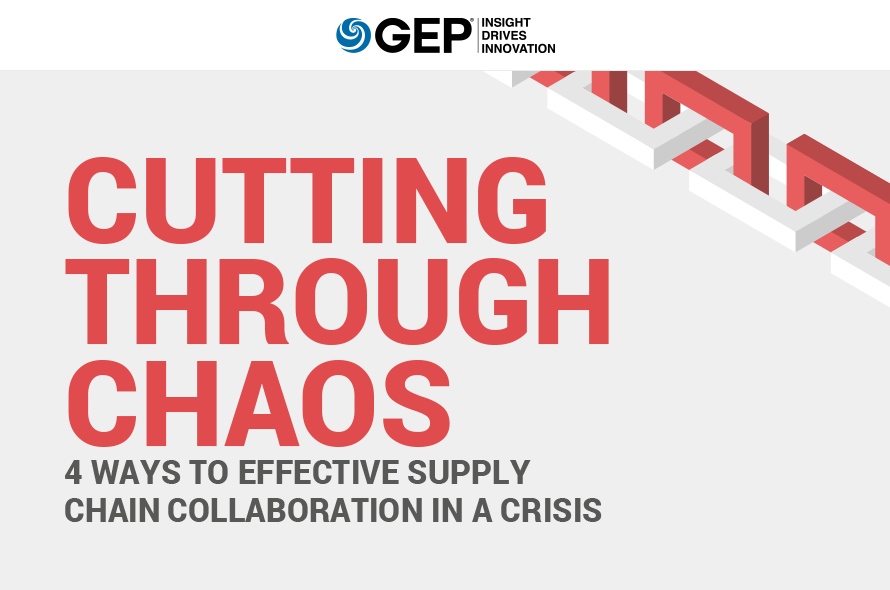 Cutting Through Chaos: 4 Ways to Effective Supply Chain Collaboration in a Crisis