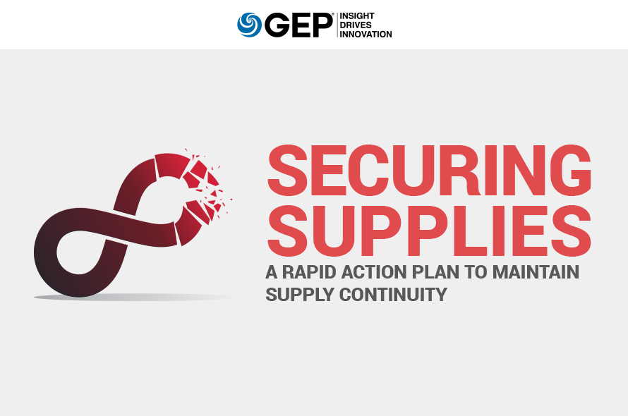 Securing Supplies: A Rapid Action Plan to Maintain Supply Continuity