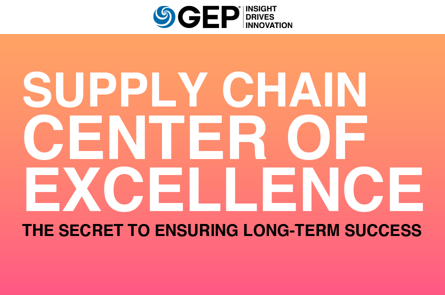 Supply Chain Center of Excellence