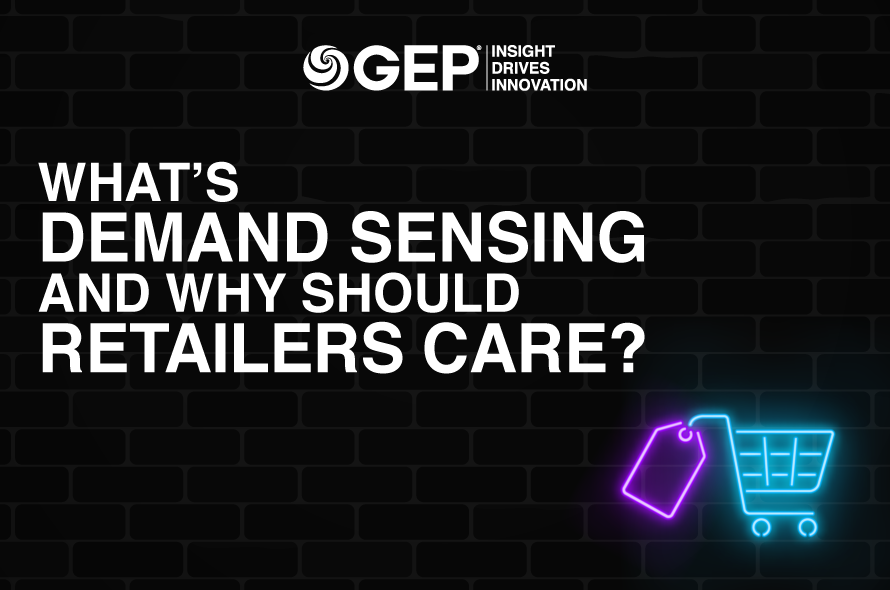 What's Demand Sensing and Why Should Retailers Care?