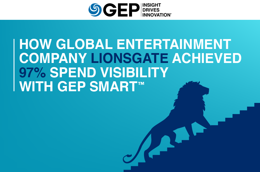 How Global Entertainment Company Lionsgate Achieved 97% Spend Visibility With GEP SMART