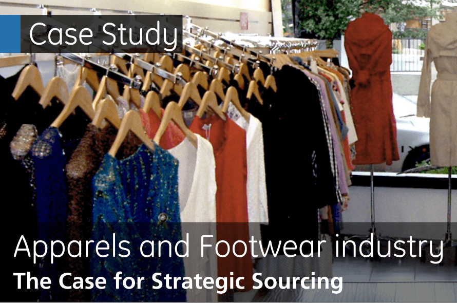 Apparels and Footwear Industry The Case for Strategic Sourcing
