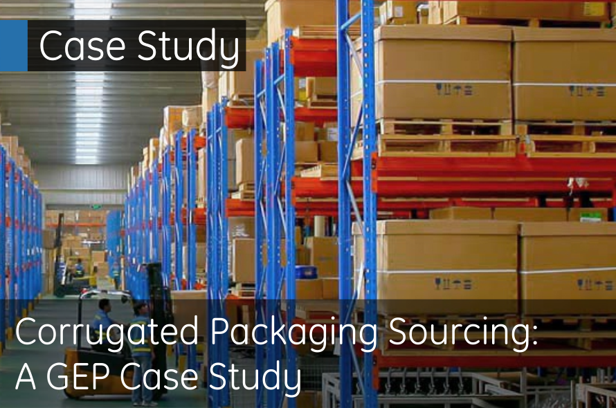 Corrugated Packaging Sourcing: A GEP Case Study