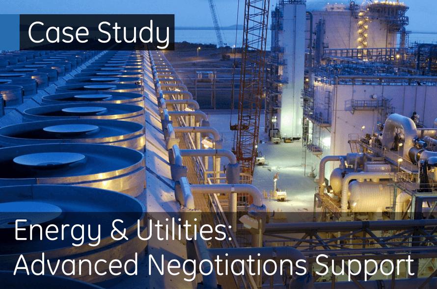 Energy & Utilities - Advanced Negotiations