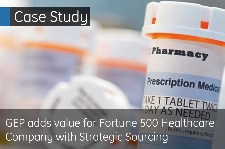 Fortune 500 Life Sciences Giant Saves Millions with GEP