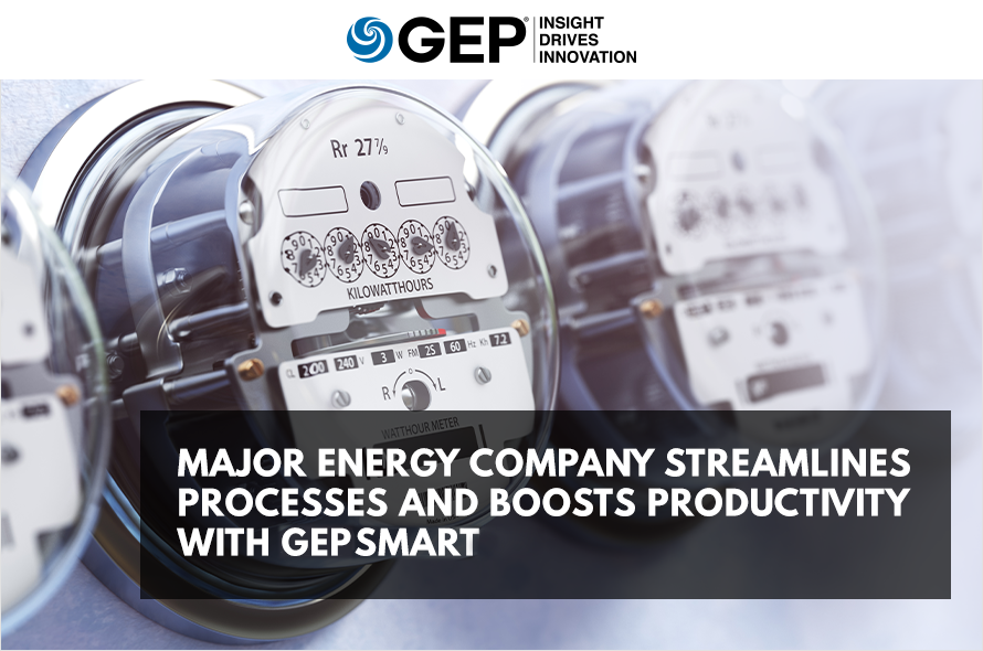 Major Energy Company Streamlines Processes and Boosts Productivity