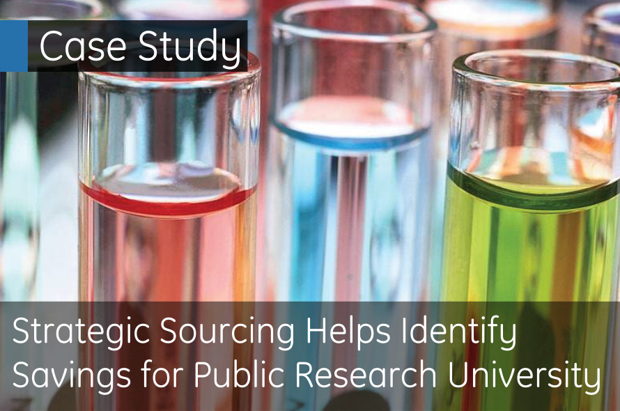 Strategic Sourcing helps identify savings for Public Research University