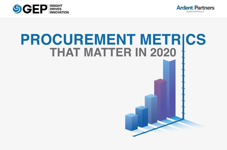 Procurement Metrics that Matter in 2020