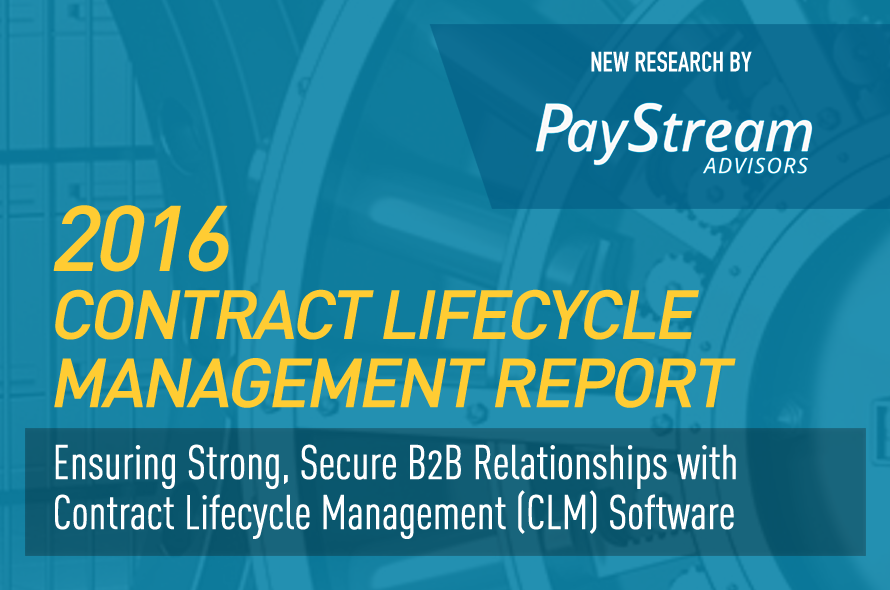 2016 Contract Lifecycle Management Report