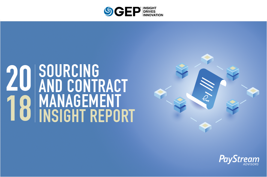 2018 Sourcing and Contract Management Insight Report