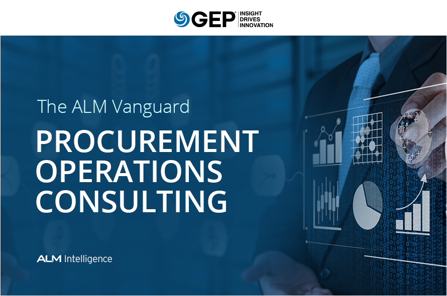 GEP Named Leader: ALM Vanguard for Procurement Operations Consulting