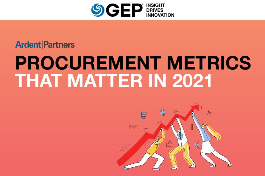 Ardent Partners' Procurement Metrics that Matter in 2021