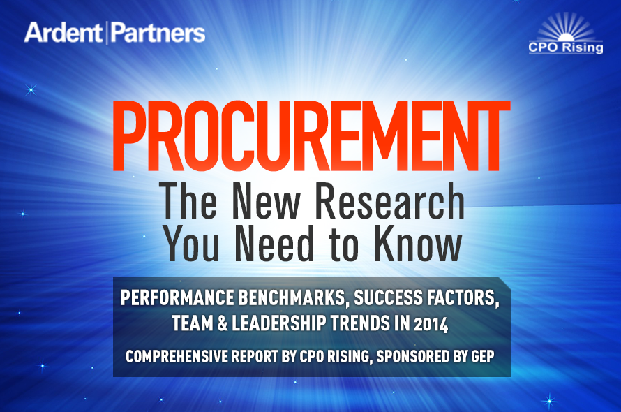 CPO Rising 2014: Convergence — New Research Report by Ardent Partners Performance Benchmarks, Success Drivers & Key Trends