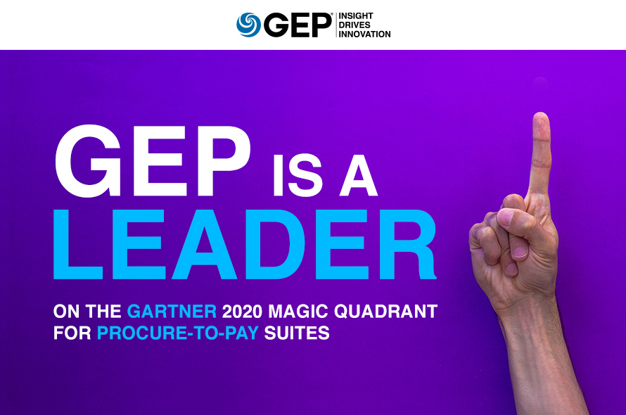 GEP is a Leader On the Gartner 2020 Magic Quadrant for Procure-to-Pay Suites