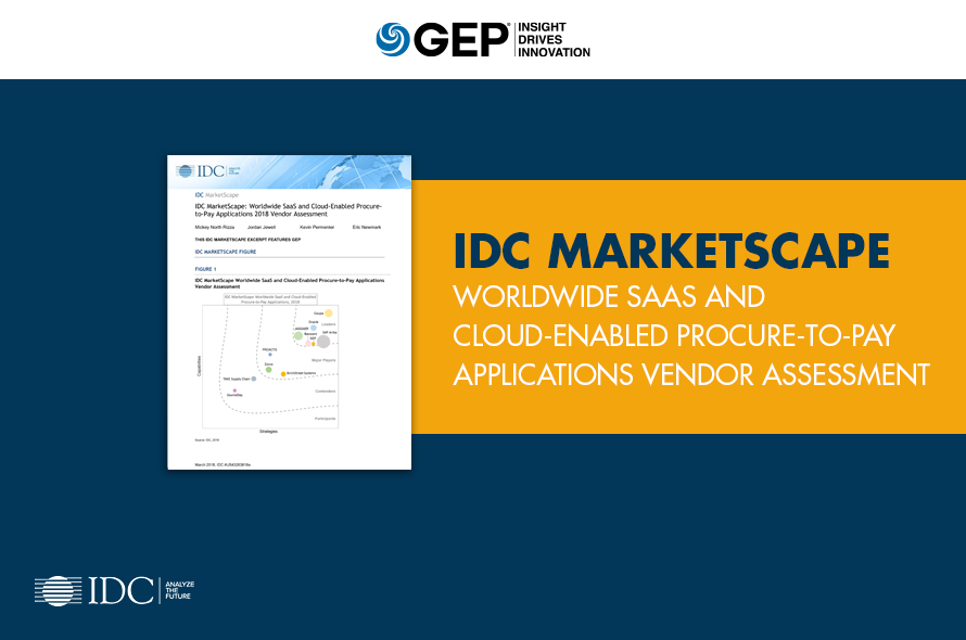 Worldwide SaaS and Cloud-Enabled Procure-to-Pay Applications Vendor Assessment