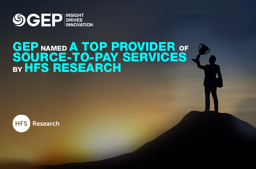 GEP Named a Top Provider of Source-to-Pay Services by HFS Research