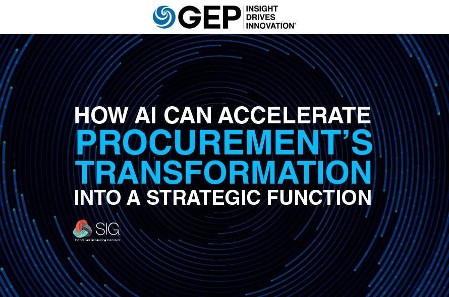 How AI Can Accelerate Procurement's Transformation into a Strategic Function
