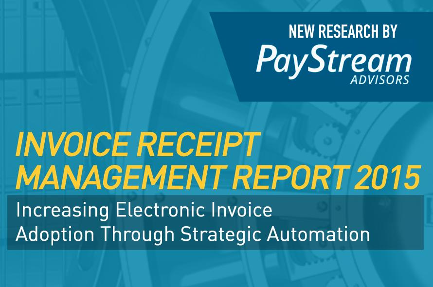 Invoice Receipt Management Report 2015