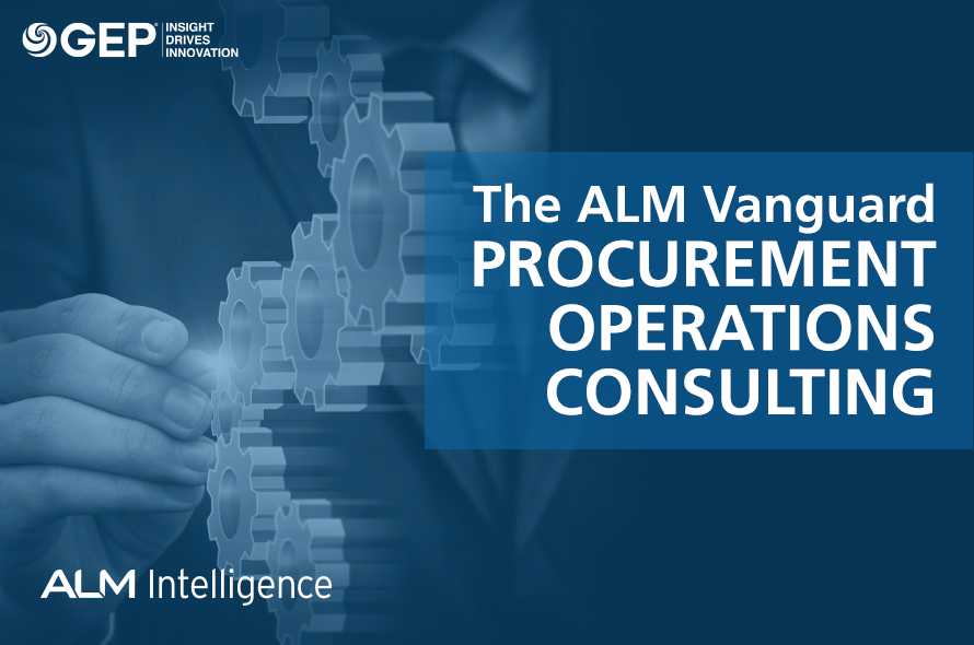 GEP Named Leader on the ALM Vanguard for Procurement Operations Consulting
