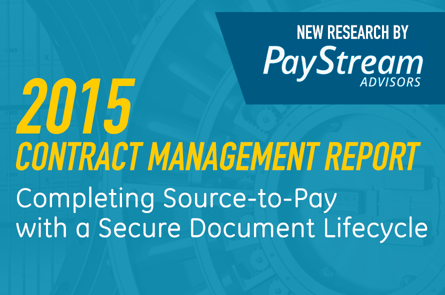 PayStream 2015 Contract Management Report