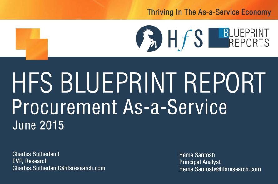 HfS Blueprint Report: Comprehensive Review of Procurement Outsourcing (Procurement-as-a-Service) Providers