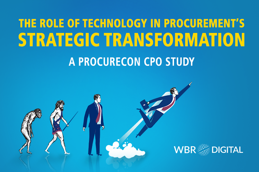 Exploring the Role of Technology in Procurement's Strategic Transformation – ProcureCon CPO Study