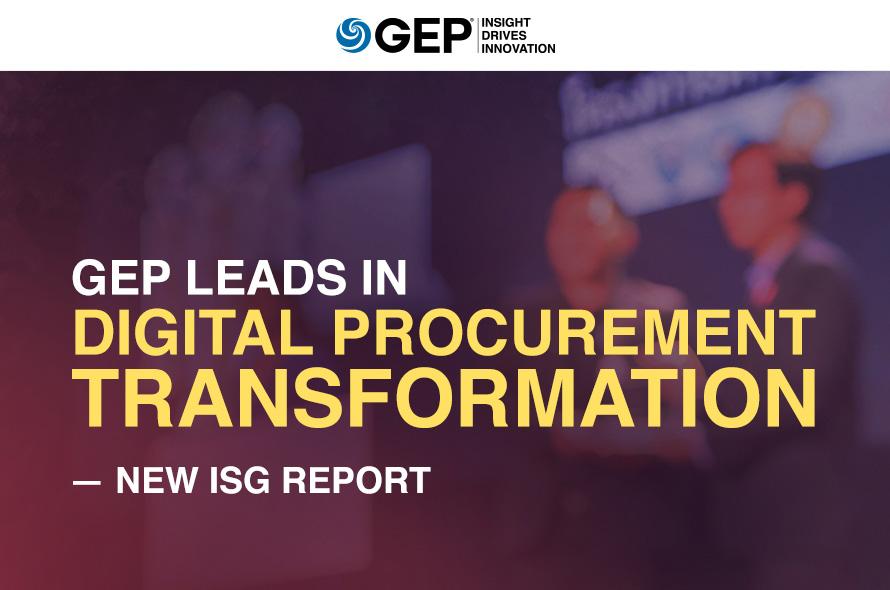 GEP Leads in Digital Procurement Transformation