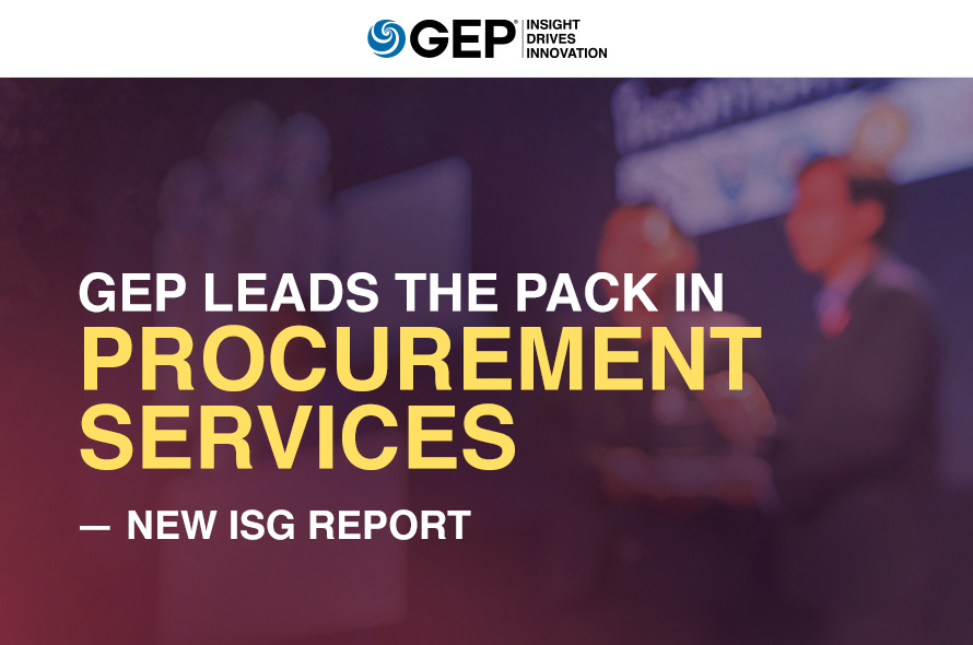 GEP Leads the Pack in Procurement Services