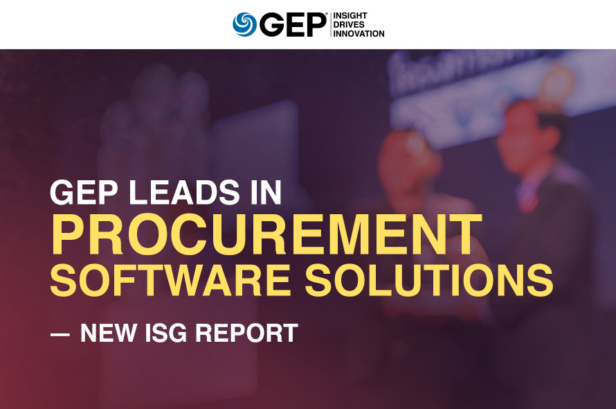 GEP Leads in Procurement Software Solutions