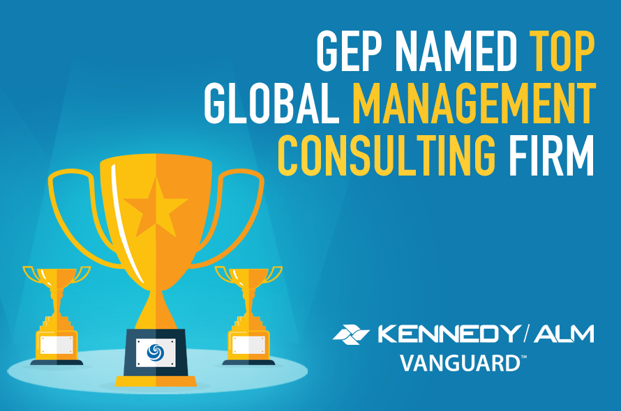 GEP Named Leader in ALM Vanguard Report on Global Management Consulting Firms
