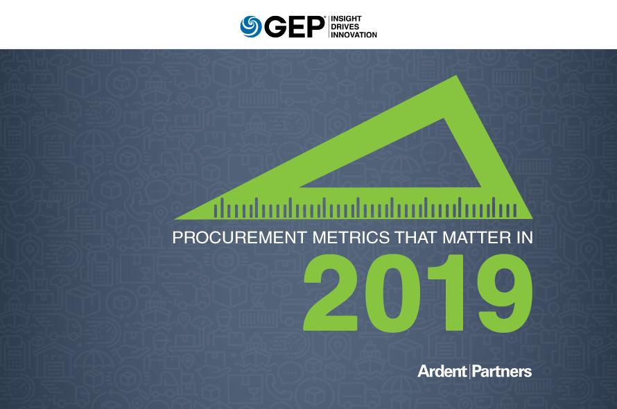 Procurement Metrics that Matter in 2019