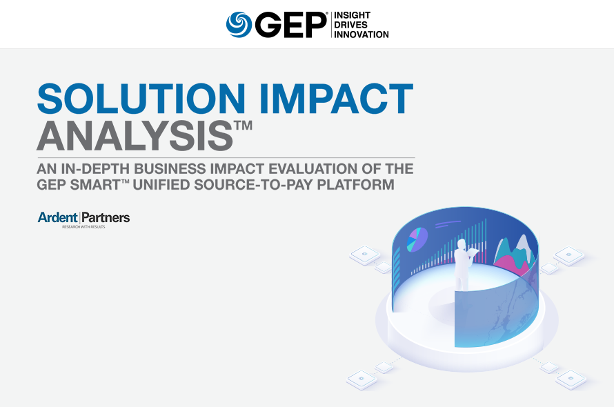 GEP SMART Solution Impact Analysis Report by Leading Research and Advisory firm Ardent Partners