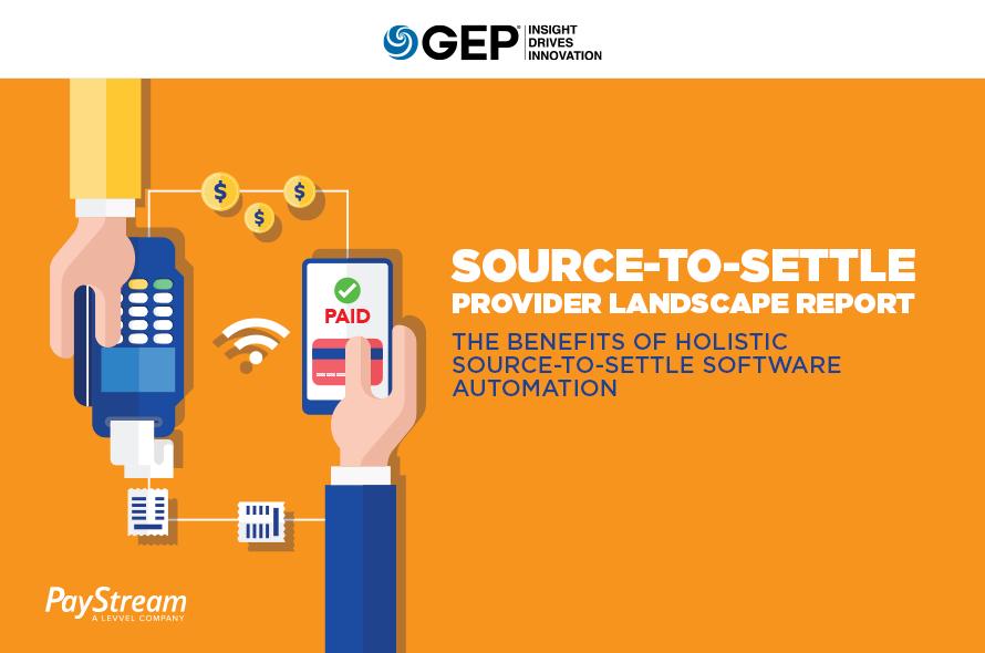 Source-to-Settle Provider Landscape