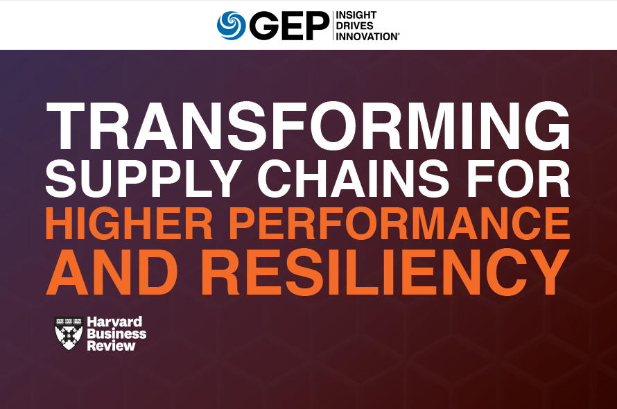 Transforming Supply Chains for Higher Performance and Resiliency