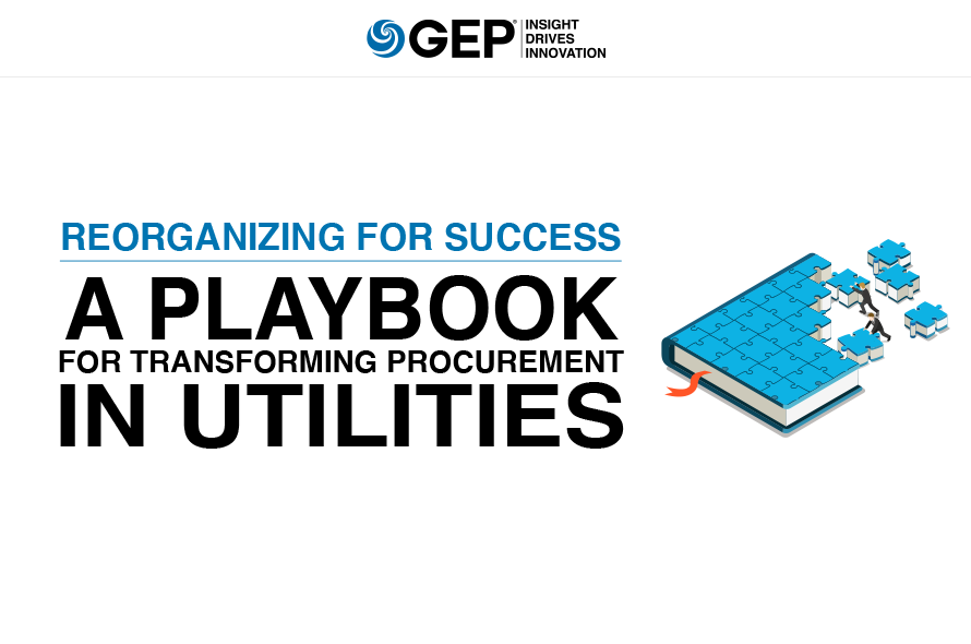Reorganizing for Success: A Playbook for Transforming Procurement in Utilities