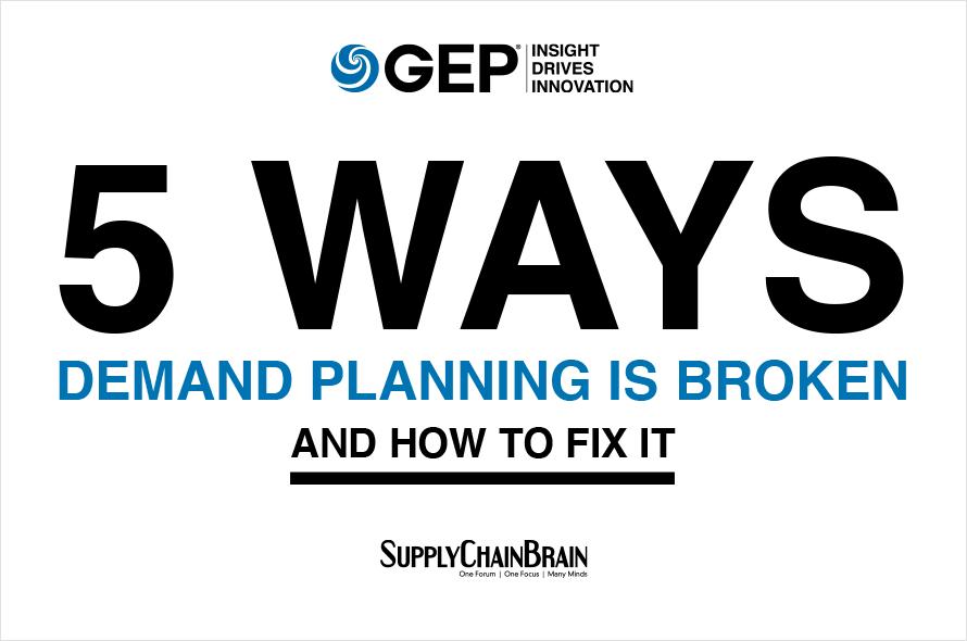 5 Ways Demand Planning Is Broken (And How to Fix It )
