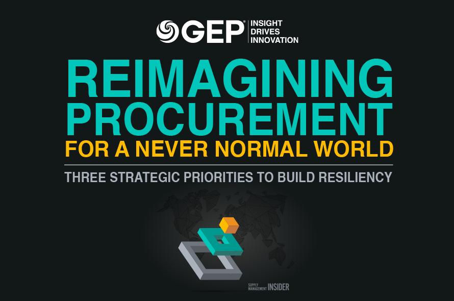 Reimagining Procurement for a Never Normal World