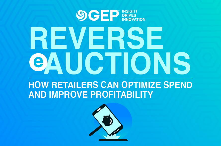 Reverse eAuctions: How Retailers Can Optimize Spend and Improve Profitability