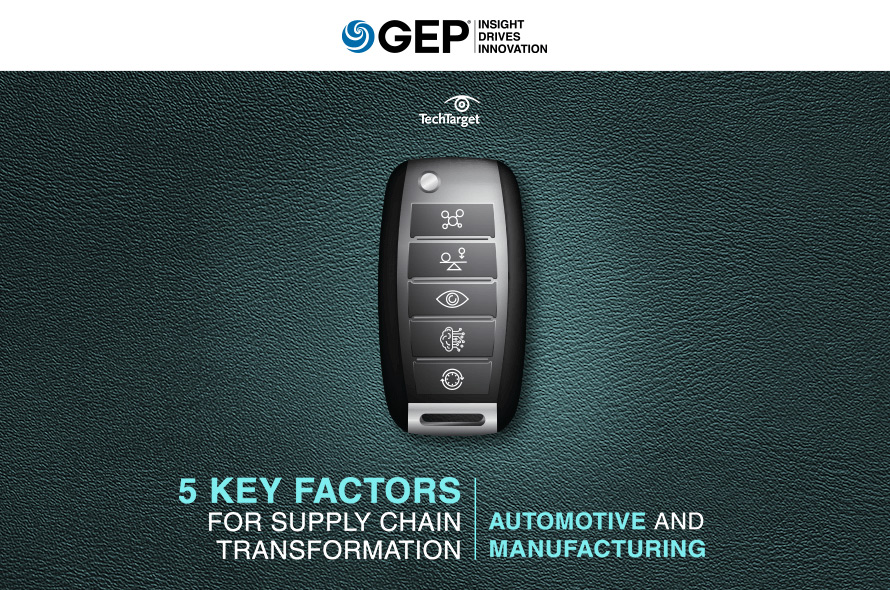 5 Key Factors for Supply Chain Transformation