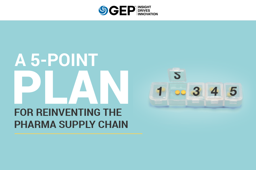 A 5-Point Plan for Reinventing the Pharma Supply Chain