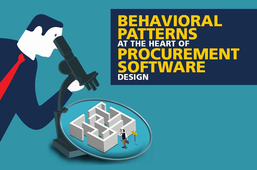 Behavioral Patterns at the Heart of Procurement Software Design