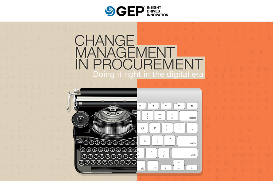 Change Management in Procurement Doing It Right in the Digital Era
