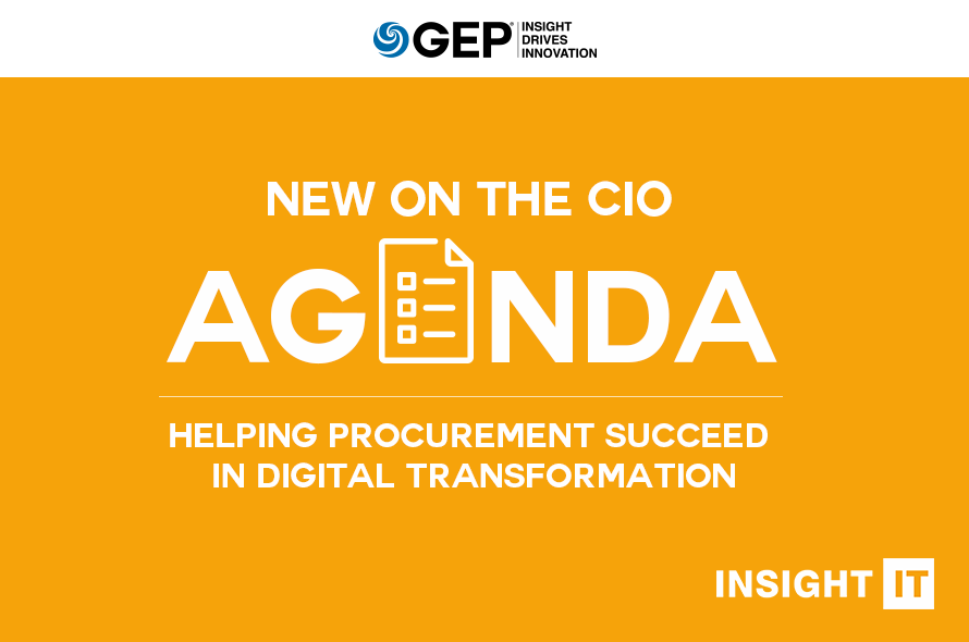 New on the CIO Agenda: Helping Procurement Succeed in Digital Transformation
